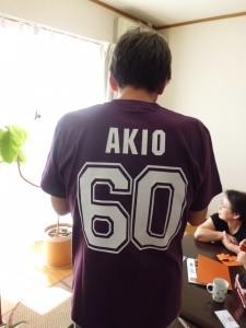 お客様着用写真_還暦祝いチームおじいちゃんTシャツ