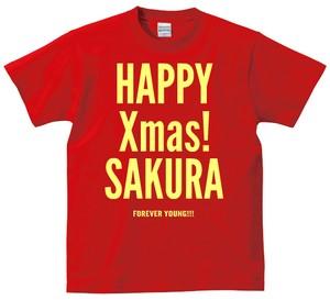 写真:クリスマス還暦デザイン 特大!光り輝く黄金メッセージ