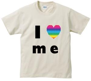 商品写真:アイラブTシャツ レインボー