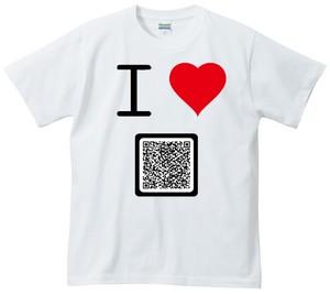 商品画像:アイラブTシャツ QRコード