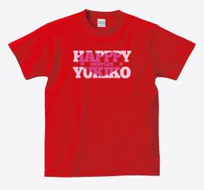 還暦Tシャツ:還暦ハッピーガール商品画像
