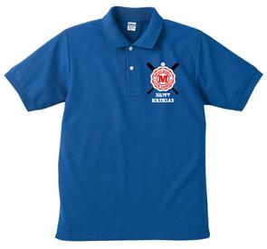 誕生日ポロシャツ:誕生日ハッピー野球ボーイ商品画像